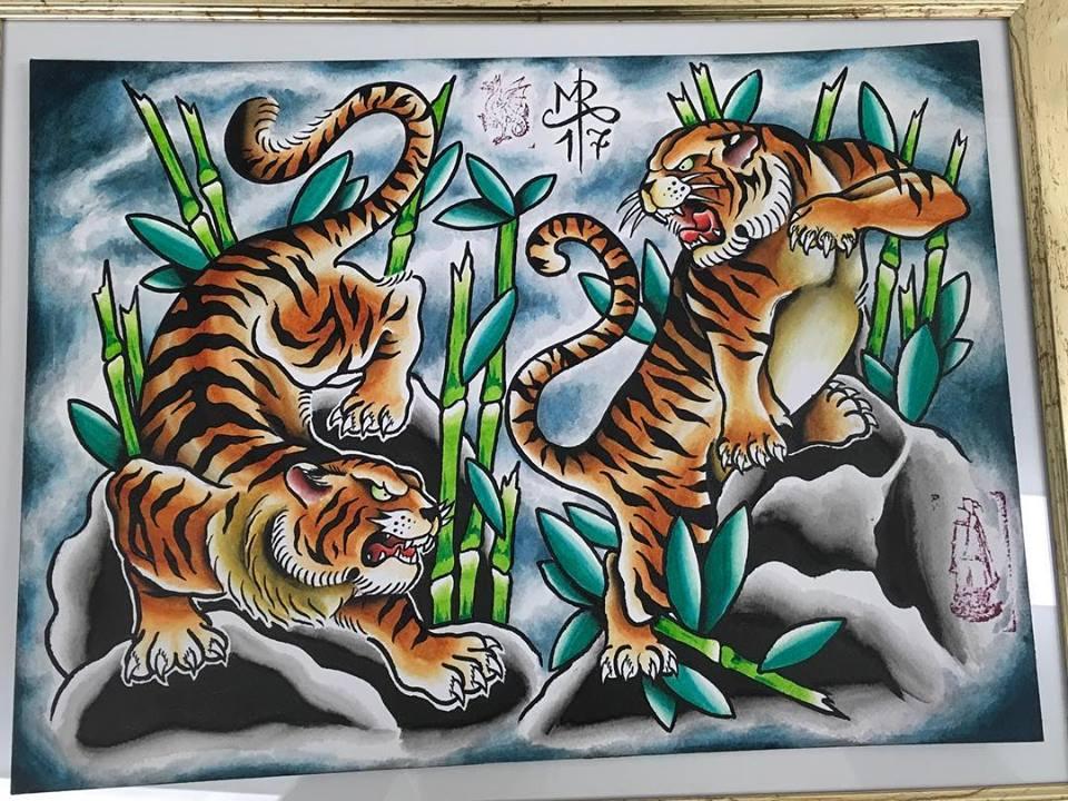 Japanese Tiger Tattoo Designs Basel Tattoo Body Art Studio
