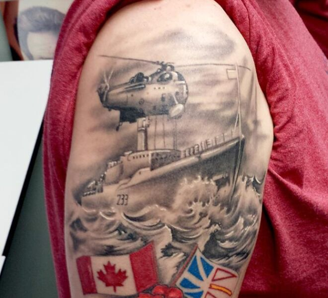 canada military tattoo